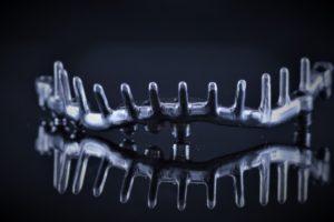 Łącznik indywidualny tytanowy CAD/CAM
